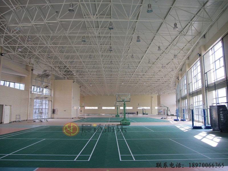 室内羽毛球PVC运动地板