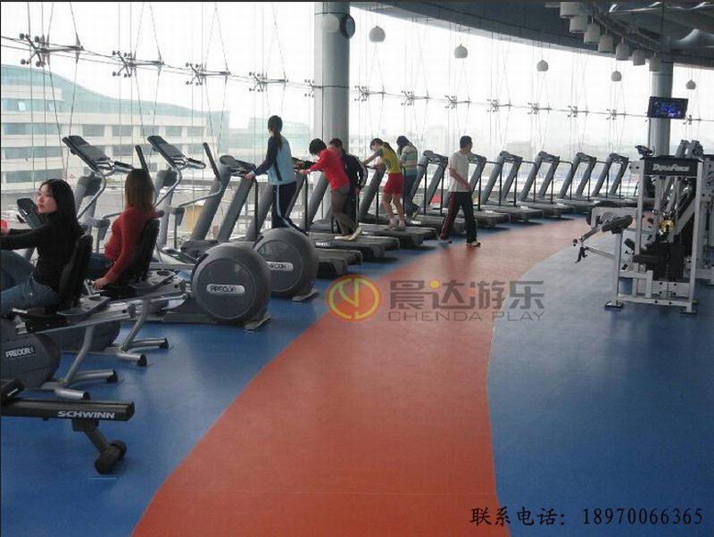 健身会所专用PVC地板