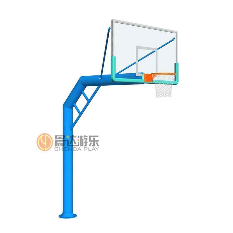 单臂圆管篮球架