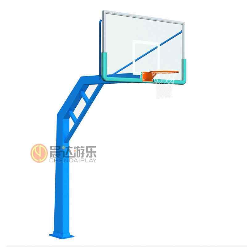方管预埋篮球架