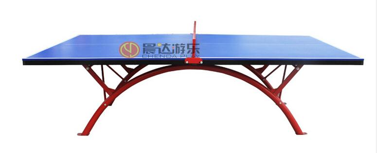 室外乒乓球桌正面