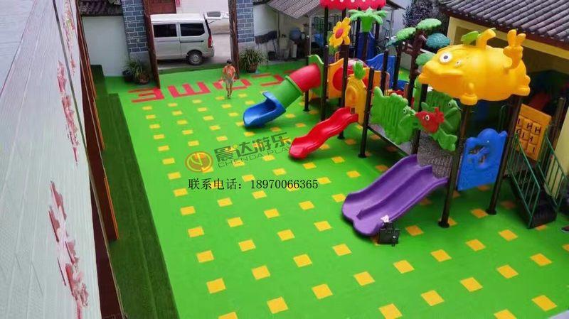 幼儿园悬浮地板5