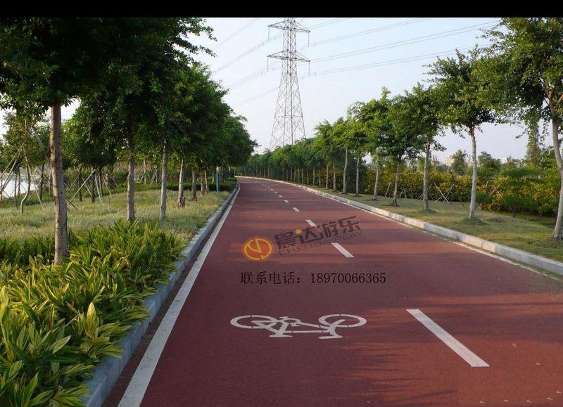 自行车道实物图2
