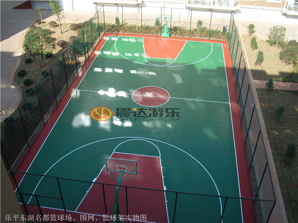 乐平东湖名都篮球场