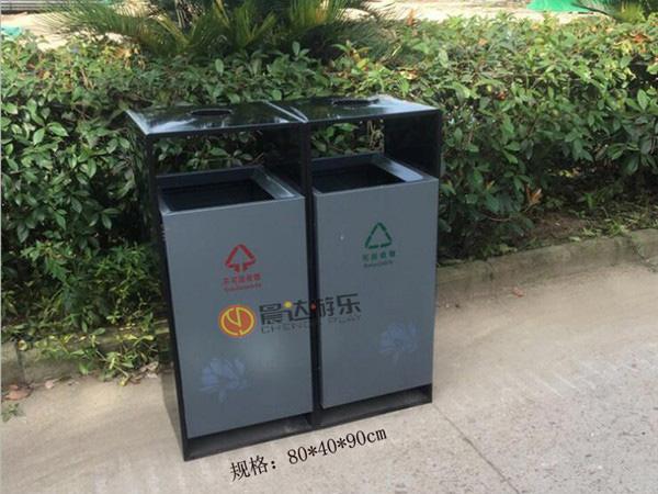 分类垃圾桶-双桶040